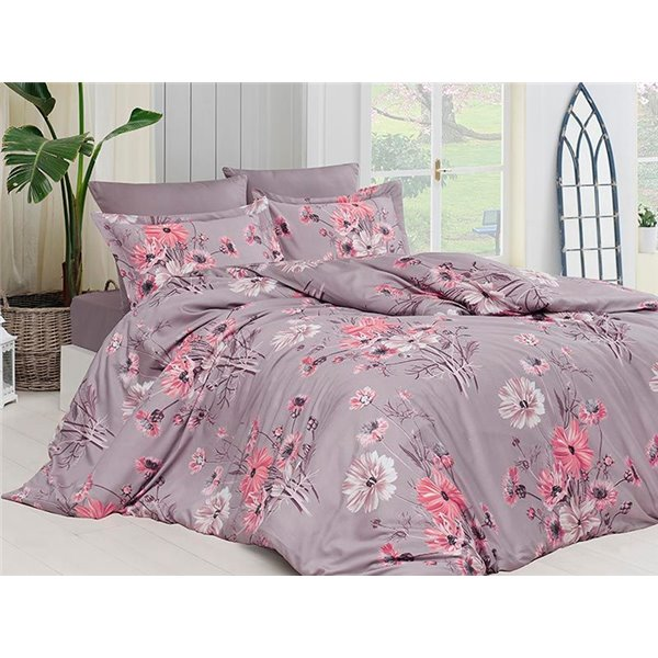 КПБ FirstChoice Cotton Satin  Sanya leylak