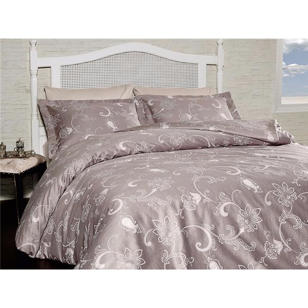 КПБ FirstChoice Cotton Satin  Carmina vizon