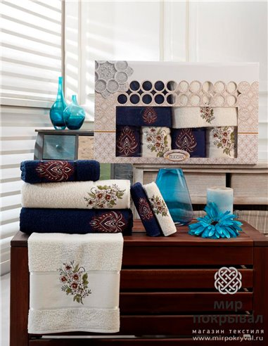 Подарочный набор полотенец DNZ Gulkan