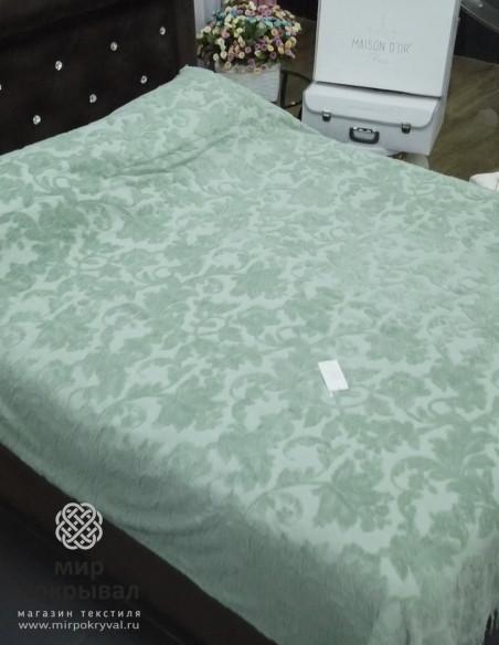 Простынь-покрывало махровая Maison Dor Sanda (зеленый)