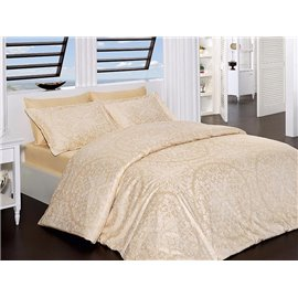 КПБ FirstChoice Cotton Satin  Vanessa golden