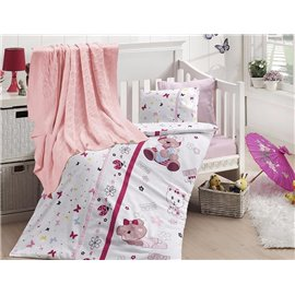 КПБ FirstChoice Baby Nirvana Set Sleeper pembe