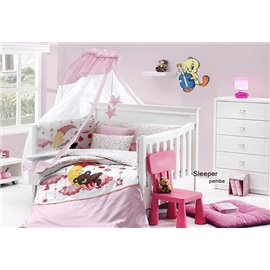 КПБ FirstChoice Happy Baby Uyku Seti Sleeper pembe