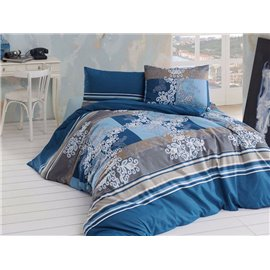 КПБ FirstChoice Polycotton Floorenza petrol