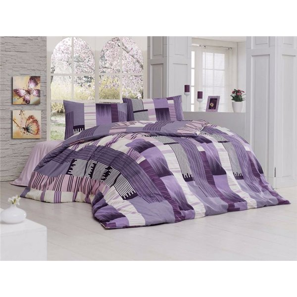 КПБ FirstChoice Polycotton Reymond lila