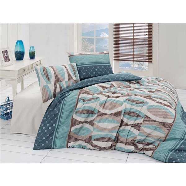 КПБ FirstChoice Polycotton Arrigo turkuaz