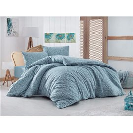 КПБ FirstChoice Polycotton Madelina turkuaz