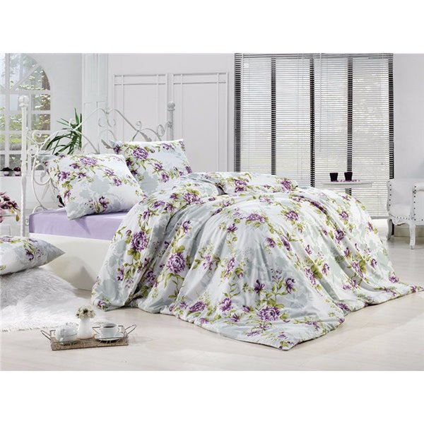 КПБ FirstChoice Polycotton Lal lila