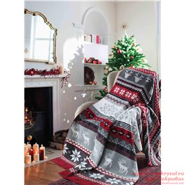 Плед Sesli 18104a New Year Blankets