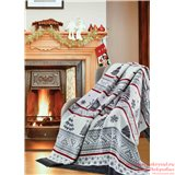 Плед Sesli 18100a New Year Blankets