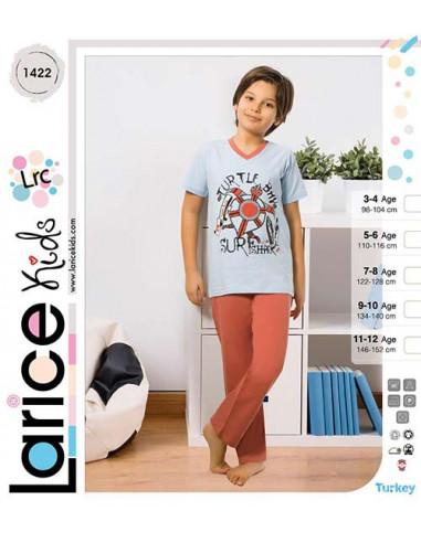 Пижама для мальчика легкая LariceKids (1422)