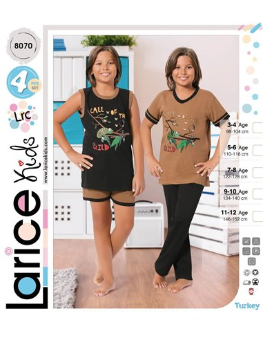 Пижама детская Devino Club Larice Kids (8070)