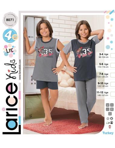 Пижама детская Devino Club Larice Kids (8071)