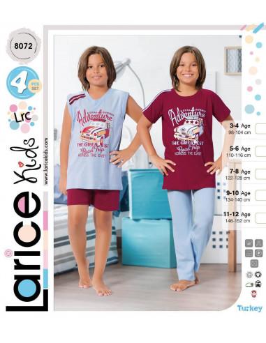 Пижама детская Devino Club Larice Kids (8072)